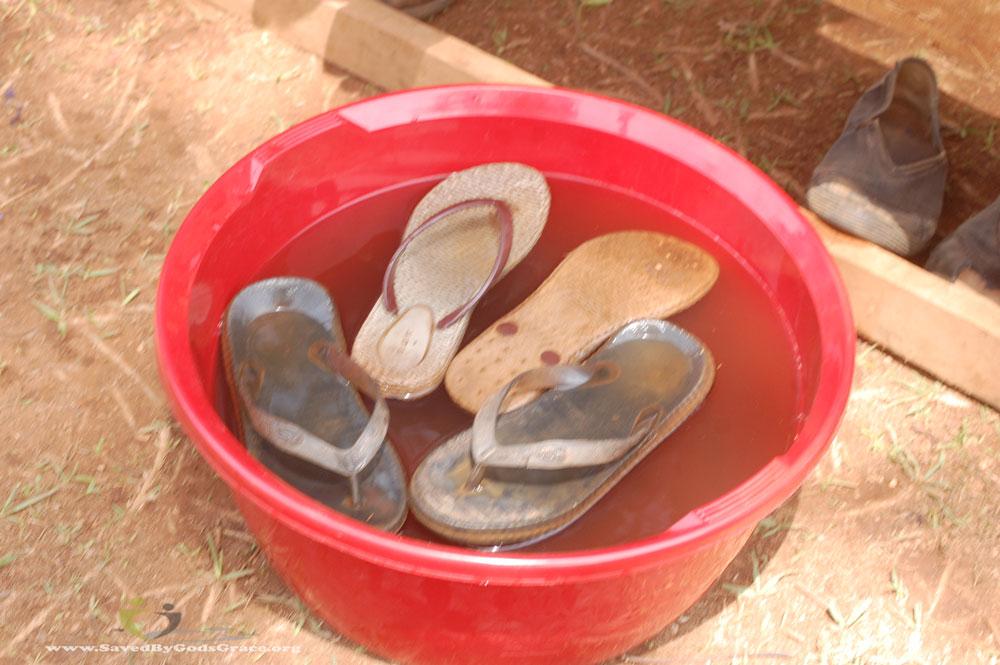 soaking-shoes