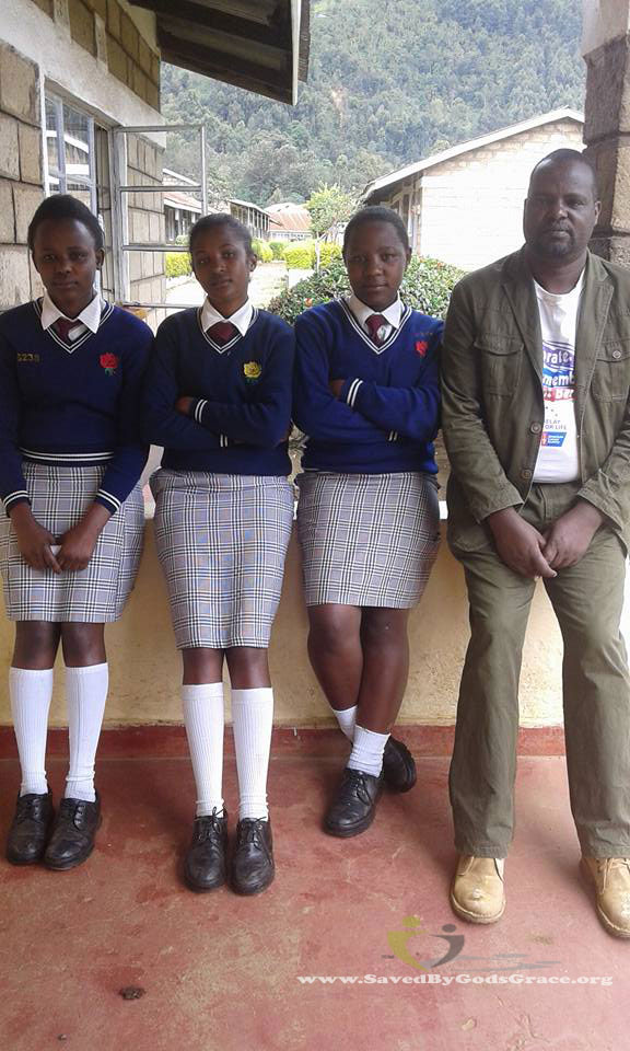 peter-with-doreen-mercy-and-naomi-at-secondary